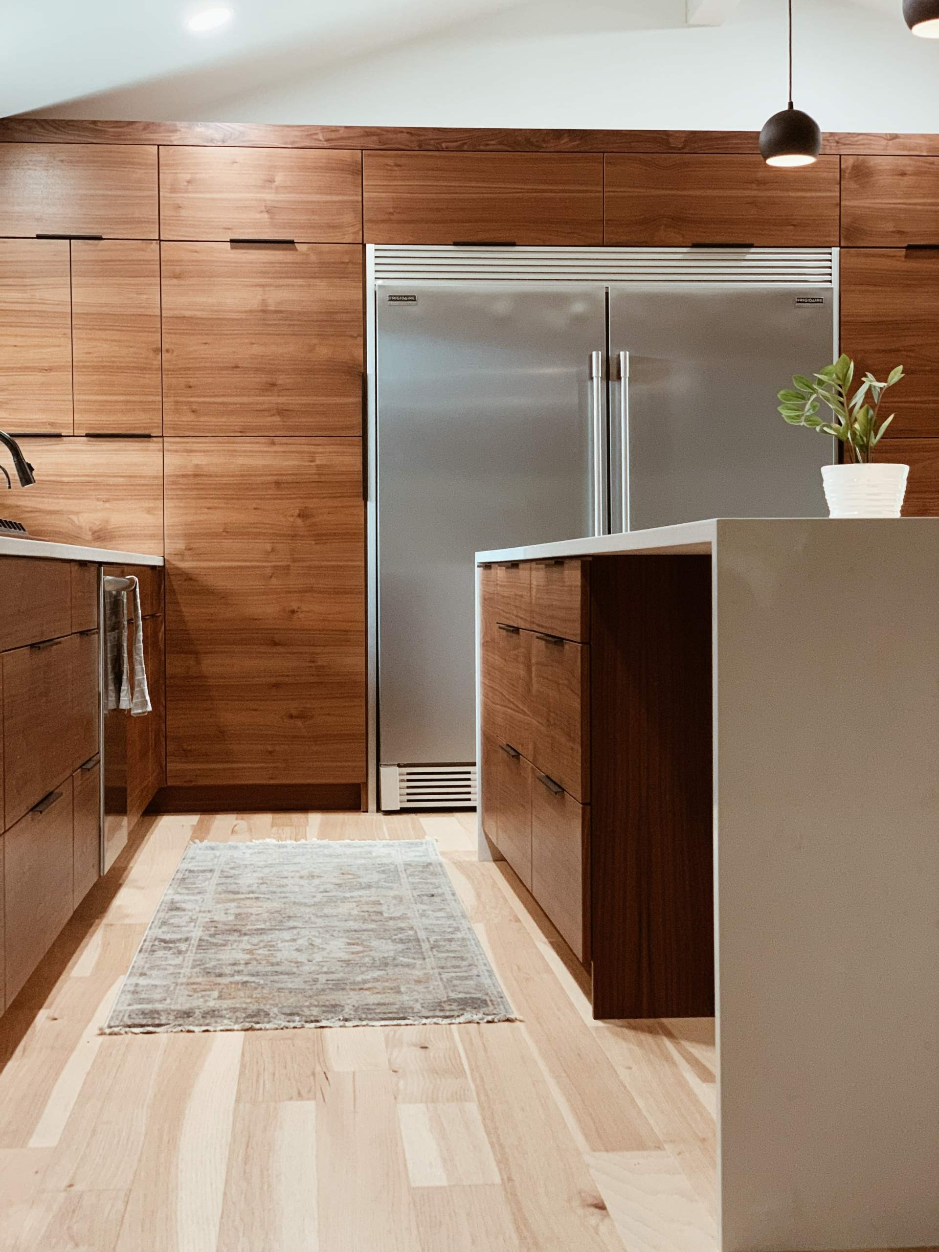 This is an image of kitchen cabinets.