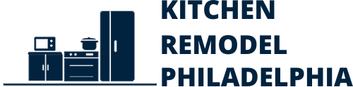 This is a bigger Kitchen Remodel Philadelphia Logo with a blue color.