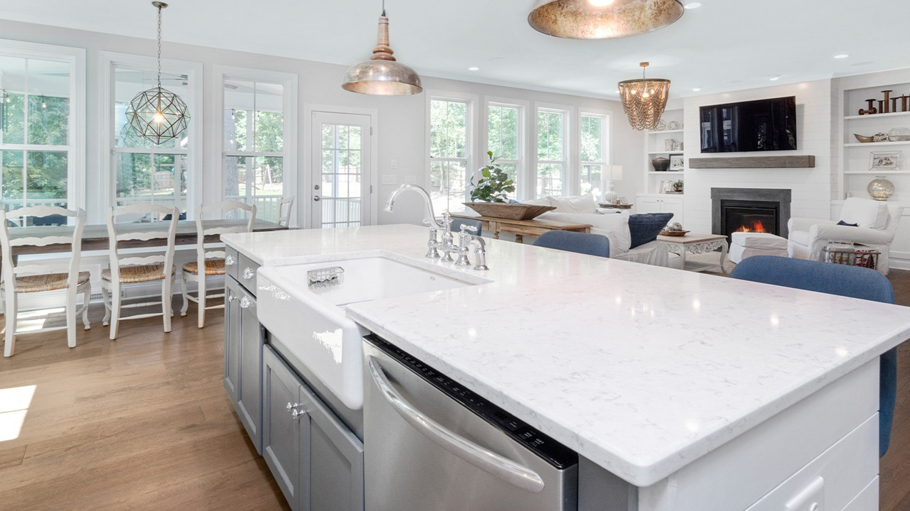 This is an image of kitchen lighting.